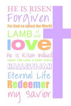 He is Risen -Easter in art jewel tones Easter Art, Easter Crafts, Easter Ideas, Easter 2014, Easter Food, Easter Decor, He Is Risen Indeed, He Has Risen, Easter Quotes