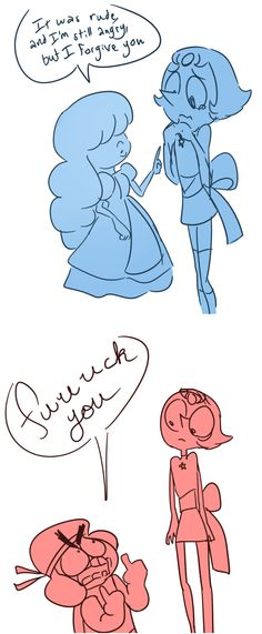 I forgive you, Pearl