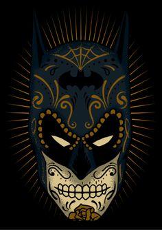 BATMAN SUGAR SKULL on Behance