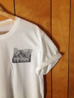 My Everest Mountain Logo Tee by MyEverestGoods on Etsy