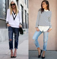 How to wear your boyfriend jeans this season...LOVE
