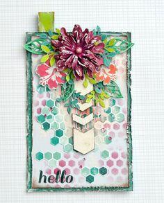 Card: Tag by Denise van Deventer