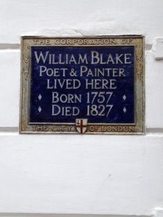 William Blake, South Molton Street, London, W1
