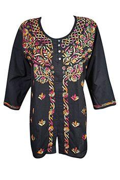 Mogul Womens Indian Tunic Blouse Cotton Button Front Blac... https://www.amazon.com/dp/B078K3J864/ref=cm_sw_r_pi_dp_U_x_OWTzAbVDVXVMA