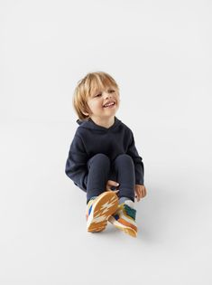 BASIC HOODED SWEATER - NEW IN-BABY BOY | 3 months -5 years-KIDS | ZARA United States Toddler Boy Outfits, Toddler Boys, Kids Outfits, Le Lou, Zara Boys, Kids Fashion Boy, Photographing Kids, Kid Styles, Hooded Sweater