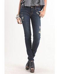 Coppola Dark Skinny Jeans… It's okay to be a little destroyed :) #bullheadblack #pacsun