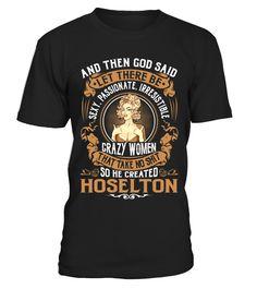 HOSELTON - God Name Shirts