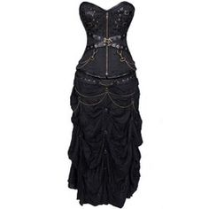 Gothic Cross Corset Dress
