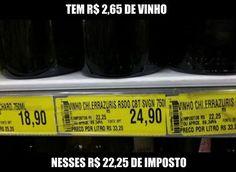 RS Notícias: O imposto em uma garrafa de vinho