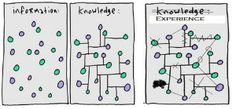 From information to knowledge to experience