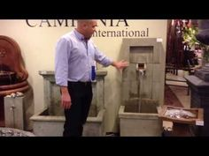 Wall Fountains- Campania International Wall Fountains Indoor Wall Fountains, Garden Fountains, Water Fountains, Outdoor, Ideas, Water Sources, Outdoors, Fuentes De Agua, Diy Garden Fountains