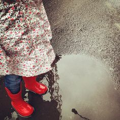 red boots by mrs. french, via Flickr