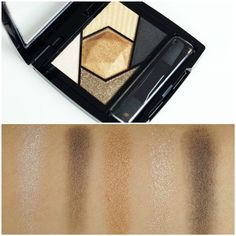 Maybelline Color Sensational Diamond Eyeshadow Palette Topaz Gold Review & Swatches