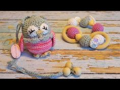погремушка вязаная крючком Мастер-класс amigurumi crochet cow - YouTube
