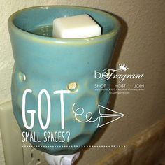 Even small spaces matter! SHOP => http://corporate.gobefragrant.com/shop/Wax-Warmers/Plug-In-Tart-Warmers/ #melting #warmer #beFragrant #melt #love #scents #Fragrances #scent #scented #fragrance #like #share #follow