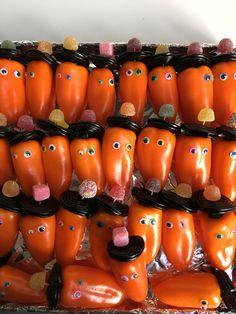 Bijna gezonde paprika's :)