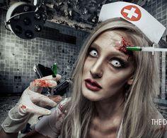10 Spooky Makeup Looks for the Halloween Fanatic Zombie Makeup, Scary Makeup, Sfx Makeup, Costume Makeup, Wolf Makeup, Amazing Halloween Makeup, Halloween Looks, Halloween Face Makeup, Halloween Inspo