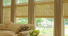 Popular Window Treatment For Living Rooms