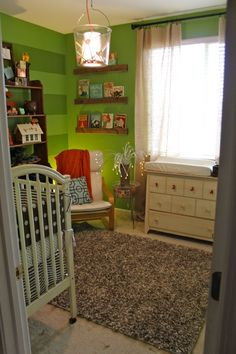 I love this baby room!