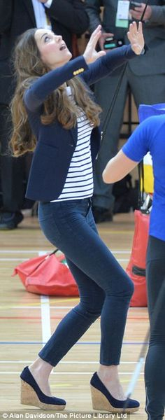 Oh No They Didn't! - The Duchess of Cambridge makes first solo public appearance since the birth of baby George