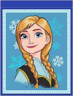 Banderines de Frozen para Imprimir Gratis. Frozen Birthday Banner, Fourth Birthday, Girl Birthday, Birthday Ideas, Frozen Disney, Disney Printables, Party Printables, Frozen Fever Party, Arte Disney