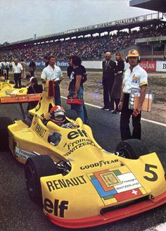 Jean-Pierre Jabouille (Elf 2 Switzerland Renault V6), 1976 Champion d'Europe de Formule 2