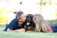 family photo with dog - Photos by Kincannon Photography