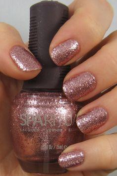 Sparitual Nail Polish, Shellac Nails, Nail Polish Colors, Mani Pedi, Smell Good, Pink Glitter, Swatch, Hair Makeup, Make Up