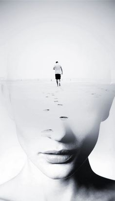 Spanish photographer Antonio Mora fuses standard portraits with landscape, animal, and abstract photography, resulting in extraordinary combinations. Double Exposure Photography, Abstract Photography, Creative Photography, White Photography, Portrait Photography, Levitation Photography, Experimental Photography, Underwater Photography, Photography Tricks