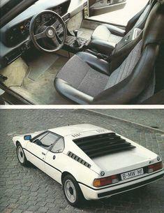 BMW M1 #bmwvintagecars