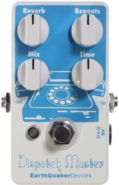 EarthQuaker Devices Dispatch Master Delay & Reverb