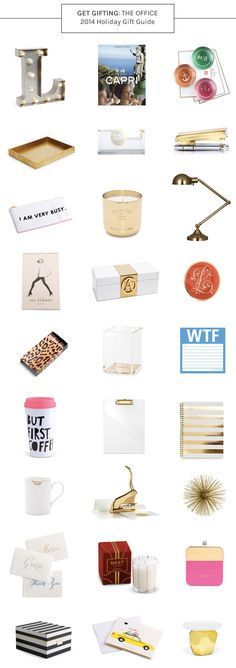 2014 Holiday Gift Guide: For The Office