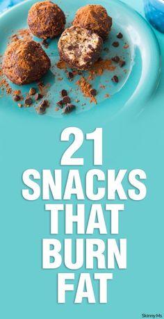 21 Snacks That Burn Fat... Snack on!