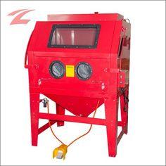 ZNL Sandstrahlgerät Sandstrahlkabine mit Absaugung 990 L Sandstrahlanlage CPS05