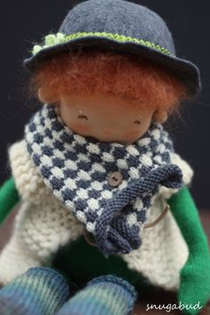 lovely little leprechaun doll by snugabud dolls