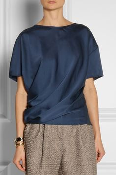 """Great shade of blue. Lanvin