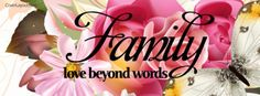 Family Love Beyond Words Cover plus many other high quality Covers for your Facebook profile at CoverLayout.