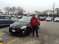 Another happy Andrew Toyota Scion Customer. Enjoy your first new car- A new 2015 Toyota Prius! #ValuedCustomer #HappyHolidays