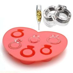 Ice Cream Tubs, Silicone Ice Molds, Silicone Rings, Mobiles, Large Ice Cube Tray, Ice Ring, Tray Styling, Ice Cream Maker