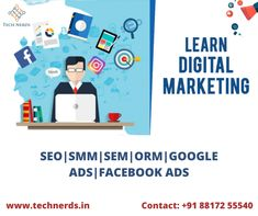 Lets connect with us for complete Digital Marketing Solution.  To Get An Efficient Social Media Strategy For Your Business: Reach Us At : www.technerds.in/contact/  Call or WhatsApp Us : +91 88172 55540 Best Digital Marketing Company, Seo Marketing, Connection, Nerd, Social Media, How To Get, Ads, Let It Be, Learning