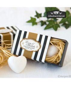Jabón Corazón en caja regalo
