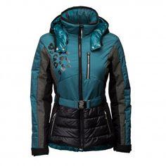 De #Sportalm Renishaw #winterjas combineert een elegant design met de functionele eigenschappen die #skikleding nodig heeft.
