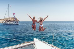 Book online your cruise around the Greek islands, easier than ever! Travel around Greece and book your tickets online for your favourite boat trips! Lake Pictures, Summer Pictures, Lake Pics, Bikini Set, Bikini Tops, Boat Pics, Yacht Week, Youre My Person, One Shoulder Bikini