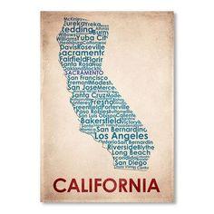 California Wall Art.