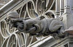 barcelona gargoyles | gárgolas y grotescos alrededor del mundo - Taringa!