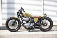 custom W650 by Heiwa Motorcycles