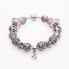 Love Is All Around Completed Bracelet By Pandora Bracelet at WilkinsandOlander.com