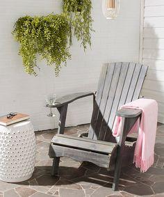 Look what I found on #zulily! Ash Gray Jessa Adirondack Chair #zulilyfinds