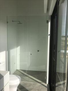 Frameless Showerscreen - Balnarring. Mornington Peninsula. Vic. Australia. Shower Panels, Vic Australia, Panel Doors, Bathtub, Bathroom, Frame, Glass, Standing Bath, Washroom