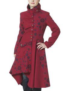 Joe Browns Remarkable Coat Red Multi